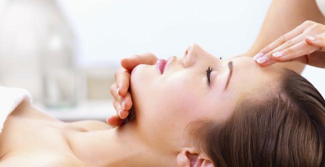 Correct skin imbalances with Acupressure massage