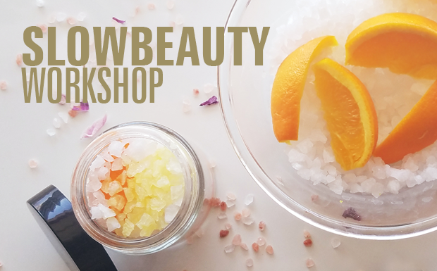 Fall Slow Beauty Workshop featuring- Detox For Face & Body-Inside Out.